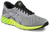 asics fuzeX Lyte Shoe Men Aluminum/Black/Safety Yellow